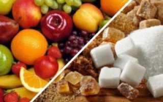 Что полезнее фруктоза или сахар