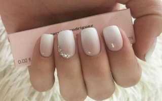 Как сделать омбре на ногтях