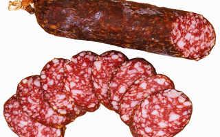 Сырокопченая колбаса польза и вред