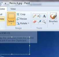 Как сделать обрезку фото на компьютере
