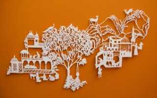Киригами шаблоны для вырезания: чудеса из бумаги — проще, чем кажется! Интересные схемы киригами
