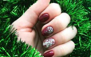 Идеи новогоднего дизайна ногтей. Идеи новогоднего дизайна ногтей Новые новогодние рисунки на ногтях
