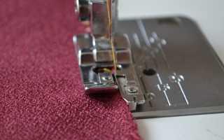 Как сделать оверлок на швейной машине