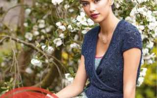 Вязаная блузка с коротким рукавом. Женские блузки: короткий рукав. Летняя кофта с коротким рукавом