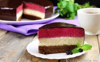 Как сделать муссовый торт