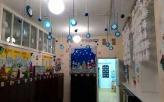 Снежинки для украшения группы в детском саду. Украшения для детского сада к новому году