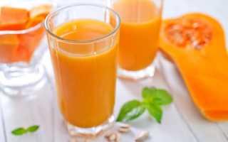 Чем полезен тыквенный сок с мякотью