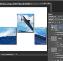 Как сделать модульную картину в фотошопе