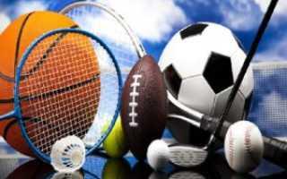 Спорт польза для здоровья