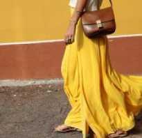 Что надеть с длинной юбкой летом. С чем носить длинную юбку в пол: комплекты и сочетания