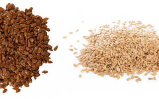 Семена белого льна полезные свойства