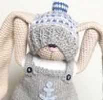 Вязаный кролик. Кролик крючком — самое интересное в блогах. Заяц крючком от Натальи Мир