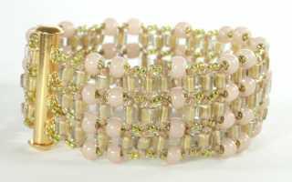 Мастер-классы по плетению браслетов из бисера для новичков.   Как сделать красивый браслет самому