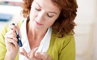 Продукты полезные при диабете