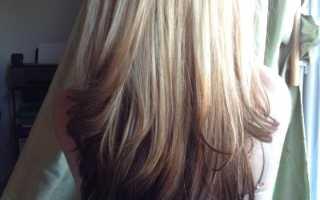 Как сделать омбре на светлые волосы