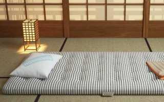 Спать на полу полезно