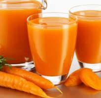 Сок моркови полезные свойства и противопоказания