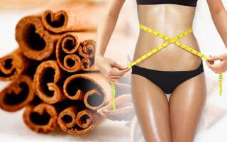 Корица полезные свойства для женщин для похудения