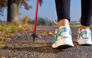 Чем полезна ходьба с палками