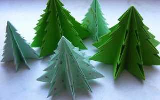 Как сделать ёлку из бумаги. Елка из бумаги своими руками — лучшие идеи для Нового года