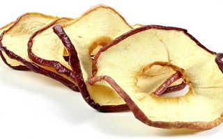 Чем полезны сушеные яблоки для организма