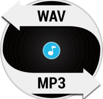 Как сделать музыку в формате wav