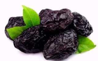 Чем полезен чернослив сушеный