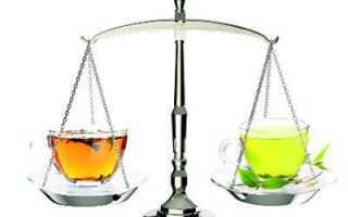 Что полезнее черный чай или зеленый
