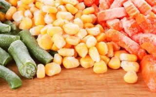 Полезны ли овощи замороженные