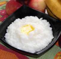Чем полезна каша рисовая молочная