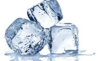 Полезно ли пить замороженную воду