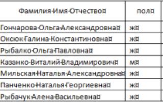 Как сделать нумерацию в таблице word