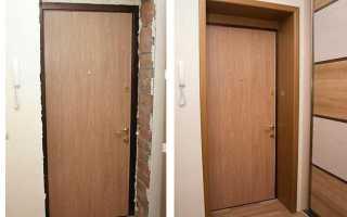 Как сделать наличники на входную дверь