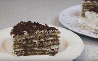 Как сделать ореховый торт