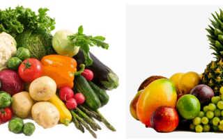 Чем полезны фрукты и овощи