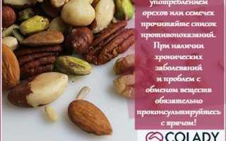 Орехи польза для женщин