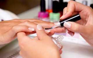Как сделать наращивание ногтей гелем поэтапно