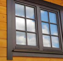 Как сделать окно в срубе