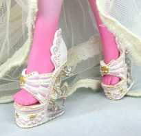 Как сделать обувь для куклы барби