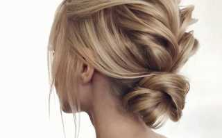 Как сделать объемную укладку на средние волосы