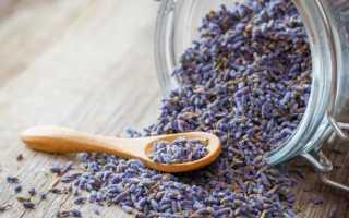Лаванда чай полезные свойства