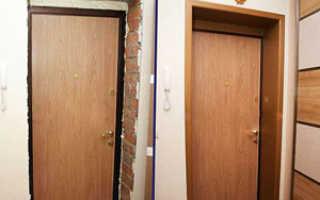 Как сделать откосы на входную дверь
