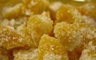 Сушеный имбирь в сахаре польза и вред
