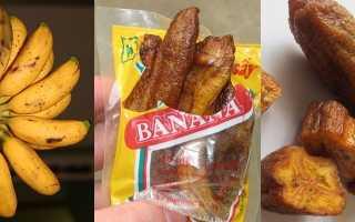 Чем полезны сушеные бананы