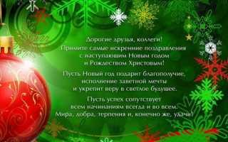 Интересные поздравления с новым годом для сотрудников. Новогодние пожелания сотрудникам