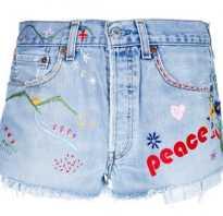 Как сделать джинсовые шорты рваными в домашних условиях. Как сделать шорты из джинс своими руками