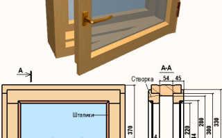 Как сделать окно в баню своими руками