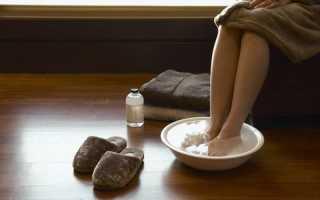 Полезно ли парить ноги