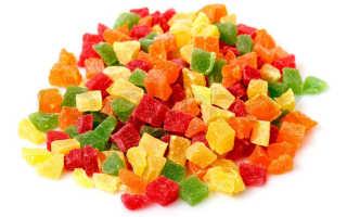 Чем полезны цукаты