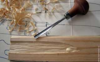 Как сделать ножны из дерева
